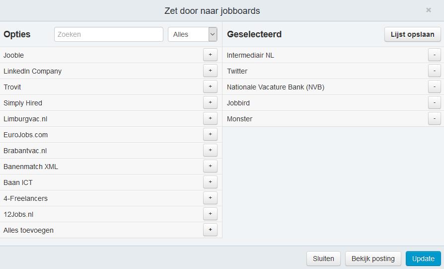 Gini Recruit - Broadbean - Jobboards